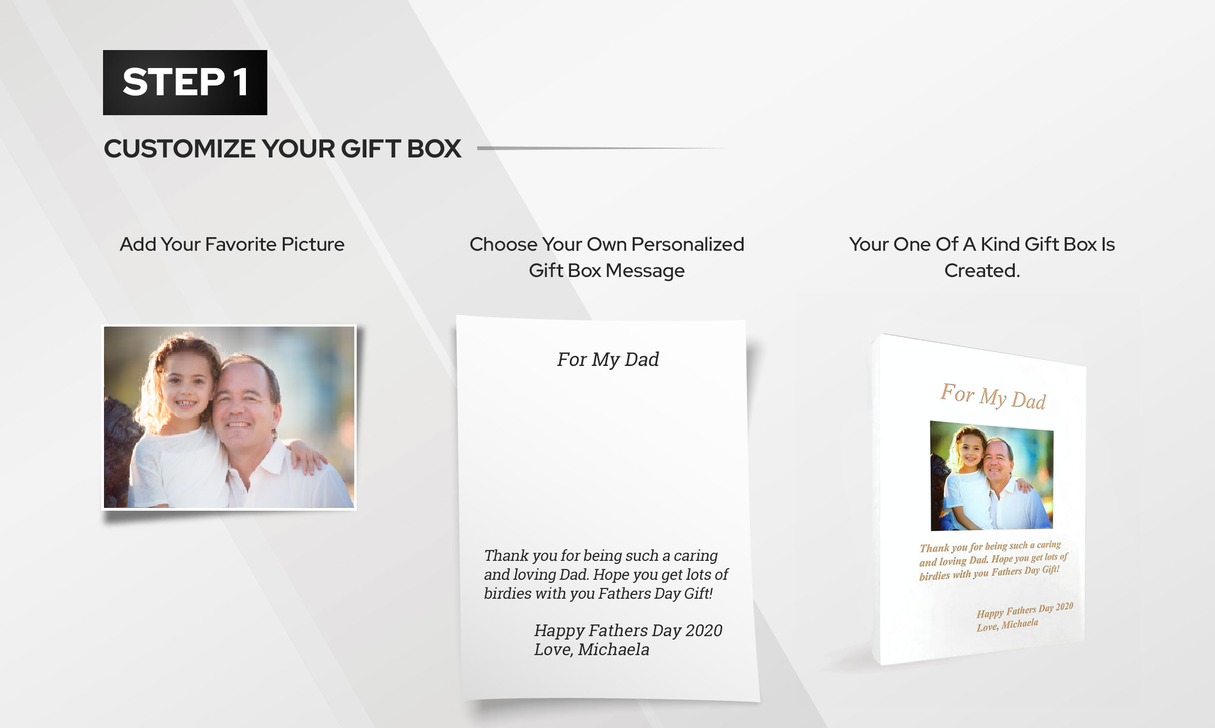 Step 1 - Customize Your Gift Box