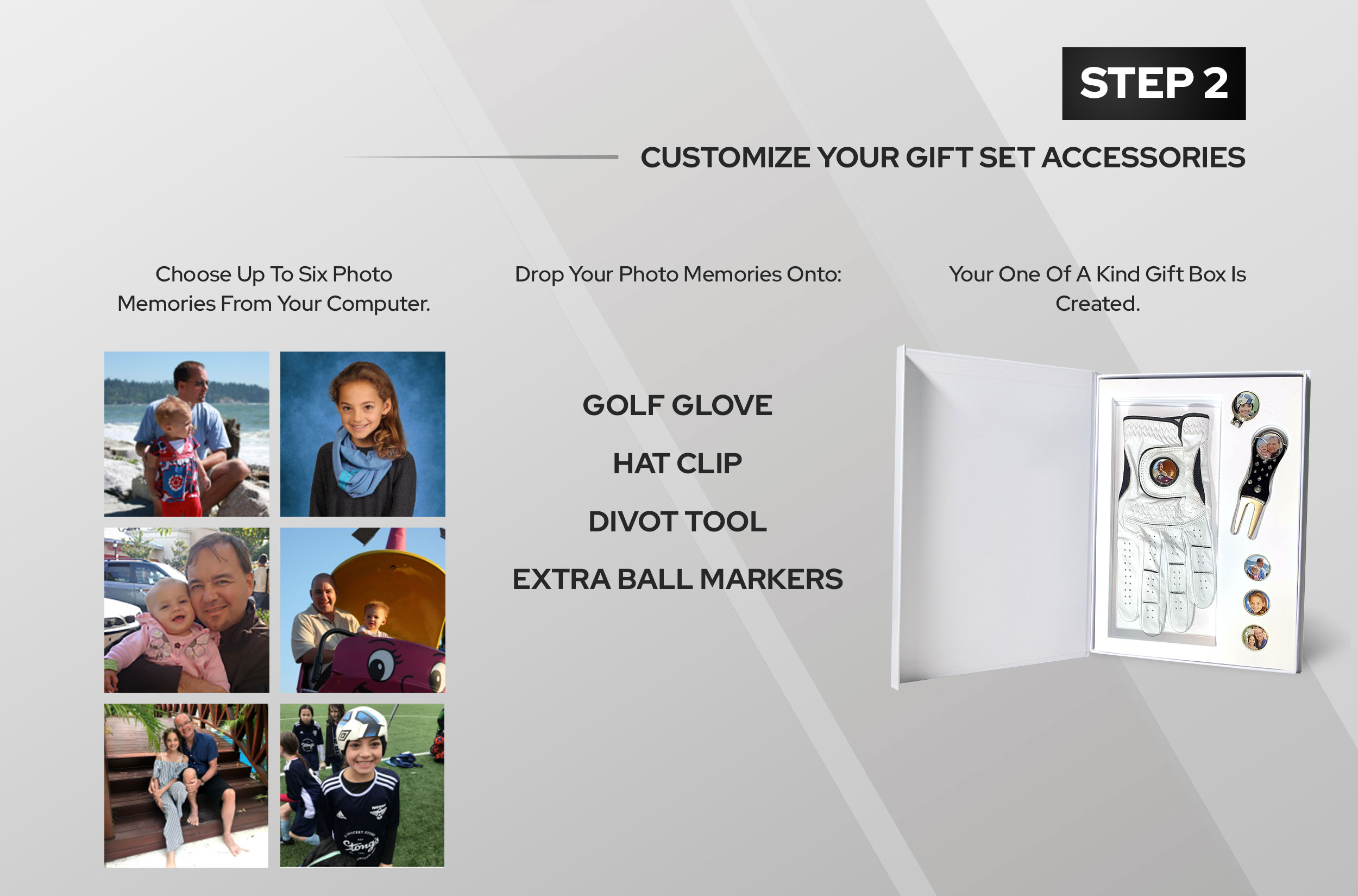 Step 2 - Customize Your Gift Accessories