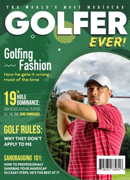 Birthday Golf Gift Set Template 3